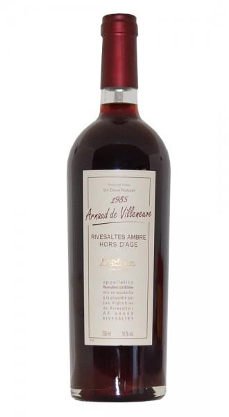Wein 1985 Rivesaltes Arnauld de Villeneuve