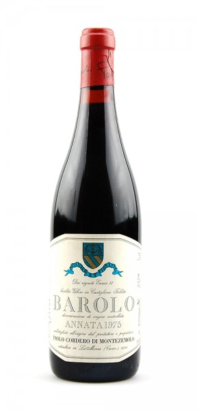 Wein 1975 Barolo Montezemolo Monfaletto