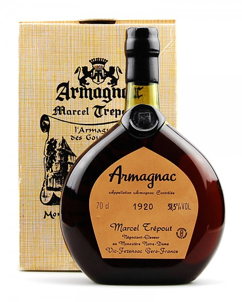 Armagnac 1920 Marcel Trepout
