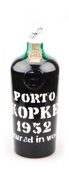 Portwein 1952 Kopke Vino Liquoroso