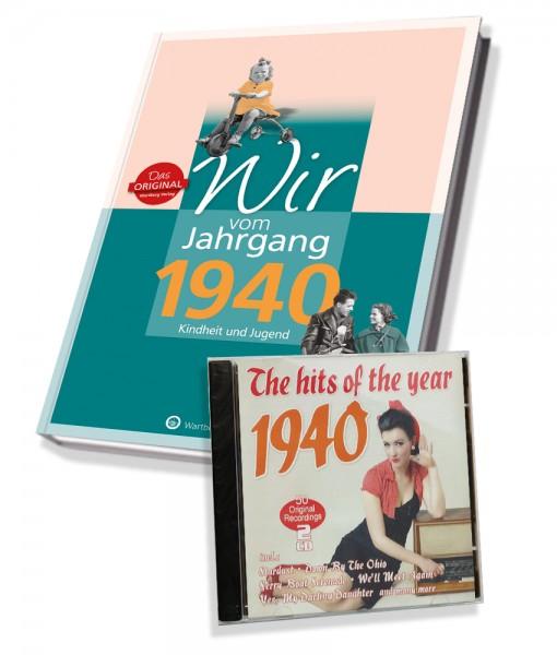 Zeitreise 1940 - Wir vom Jahrgang & Hits 1940
