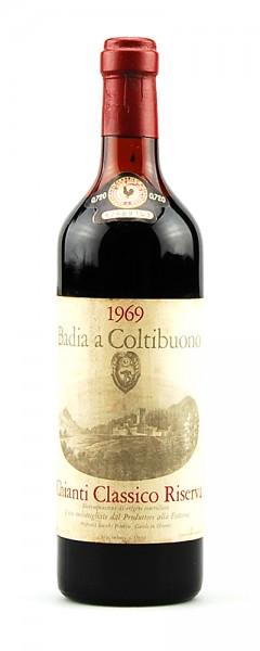 Wein 1969 Chianti Classico Riserva Badia a Coltibuono