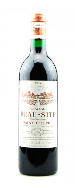 Wein 1994 Chateau Beau-Site Cru Bourgeois