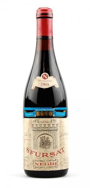 Wein 1969 Sfursat Nino Negri Riserva Speciale