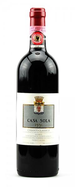 Wein 1991 Chianti Classico Casa Sola