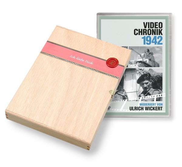 DVD 1942 Chronik Deutsche Wochenschau in Holzkiste