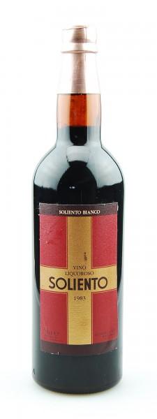 Wein 1983 Soliento Bianco Ruffino Vino Liquoroso