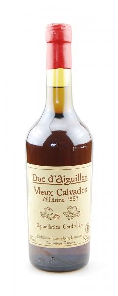 Calvados 1968 Duc d´Aiguillon in Holzkiste