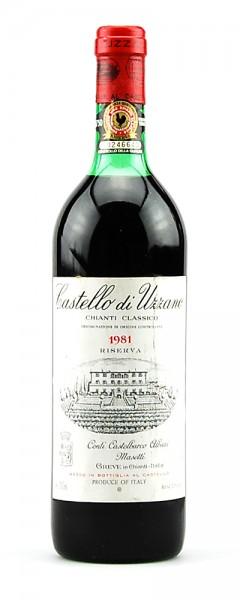 Wein 1981 Chianti Classico Riserva Castello di Uzzano