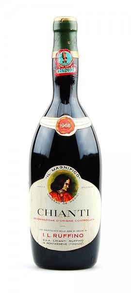 Wein 1968 Chianti Ruffino Il Magnifico