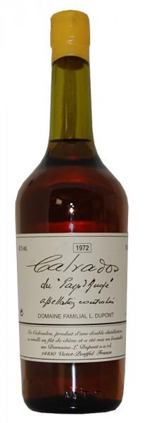 Calvados 1972 Calvados Dupont Pay d´Auge