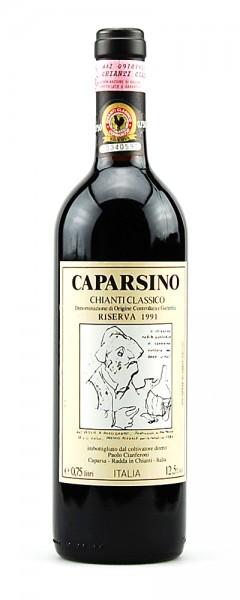 Wein 1991 Chianti Classico Riserva Caparsino