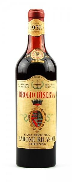 Wein 1957 Chianti Classico Riserva Brolio Ricasoli