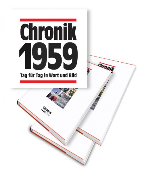 Chronik 1959 Jahrgangsband