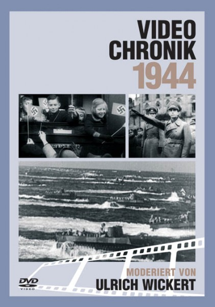 DVD 1944 Chronik Deutsche Wochenschau in Holzkiste
