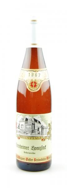 Wein 1967 Herxheimer Honigsack Scheurebe