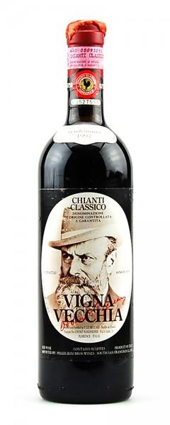 Wein 1991 Chianti Classico Vignavecchia Beccari