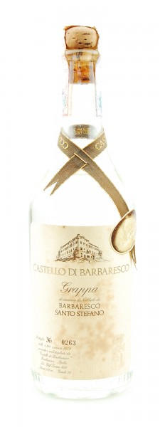 Grappa 1978 Barbaresco Santo Stefano Castello di Barbaresco