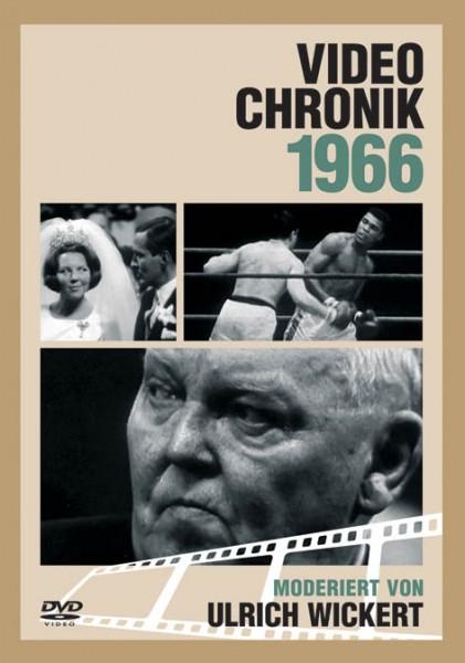DVD 1966 Chronik Deutsche Wochenschau in Holzkiste