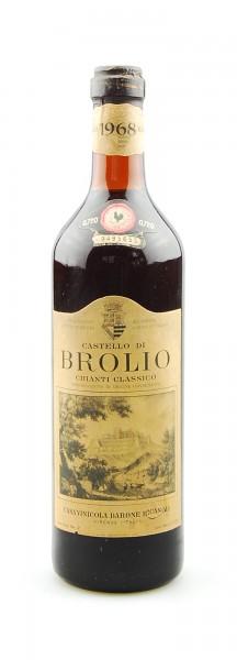 Wein 1968 Chianti Classico Brolio Ricasoli