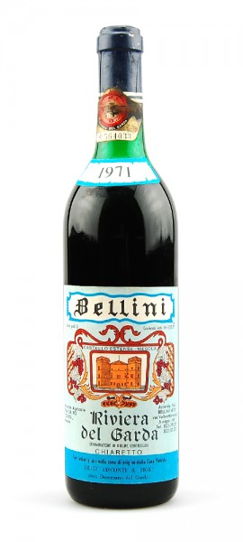 Wein 1971 Chiaretto Riviera del Garda