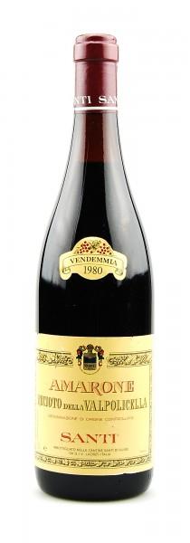 Wein 1980 Amarone Recioto della Valpolicella Santi