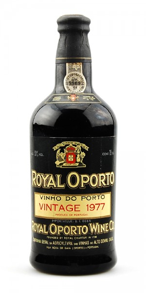 Portwein 1977 Royal Oporto C.A. Velha Vintage