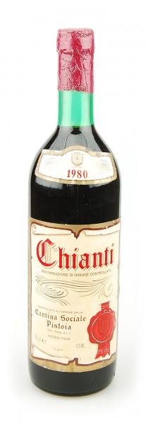 Wein 1980 Chianti Pistoia