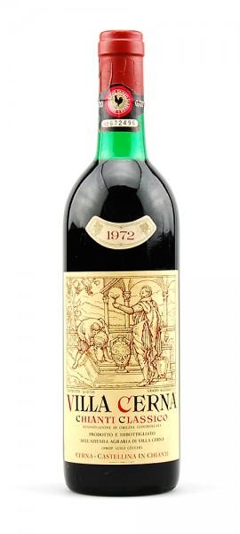 Wein 1972 Chianti Classico Villa Cerna