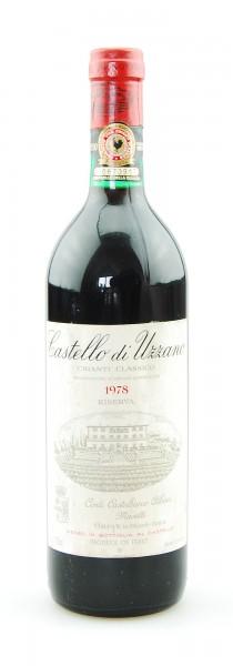 Wein 1978 Chianti Classico Riserva Castello di Uzzano