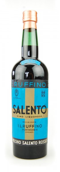 Wein 1954 Salento Ruffino rosso Vino Liquoroso