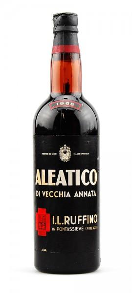Wein 1968 Aleatico di Vecchia Annata Ruffino