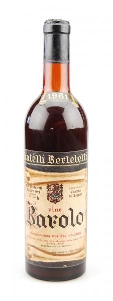 Wein 1961 Barolo Fratelli Berteletti