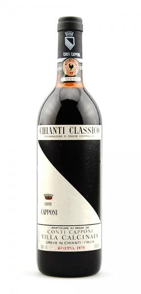 Wein 1975 Chianti Classico Conti Capponi Riserva