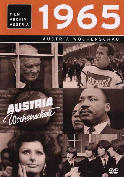 DVD 1965 Chronik Austria Wochenschau in Holzkiste