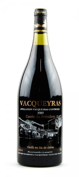 Wein 1989 Cuvee du President Cave de Vignerons 1,5 l