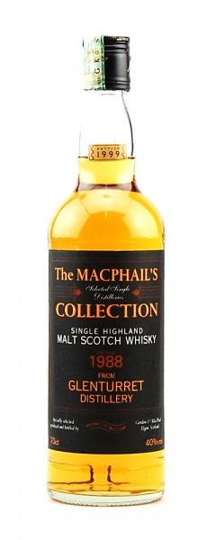 Whisky 1988 Glenturret MacPhails Single Highland Malt
