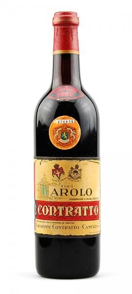 Wein 1967 Barolo Giuseppe Contratto