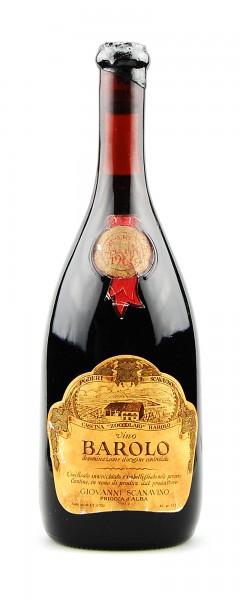 Wein 1966 Barolo Scanavino Riserva Speciale