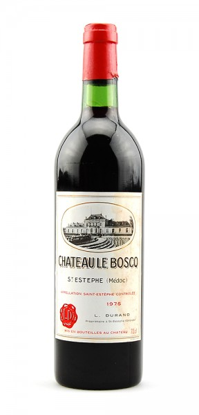 Wein 1975 Chateau Le Boscq Cru Bourgeois St.Estephe
