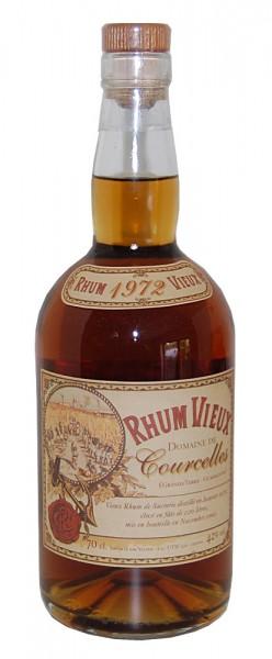 Rum 1972 Domaine de Courcelles