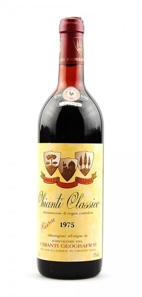 Wein 1975 Chianti Classico Geografico Riserva