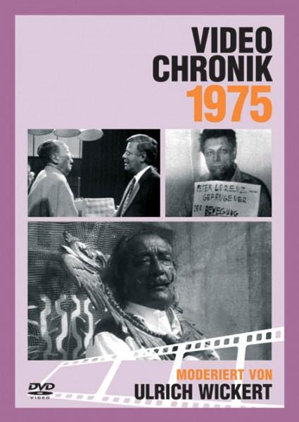 DVD 1975 Chronik Deutsche Wochenschau in Holzkiste
