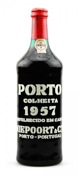 Portwein 1957 Niepoort Colheita