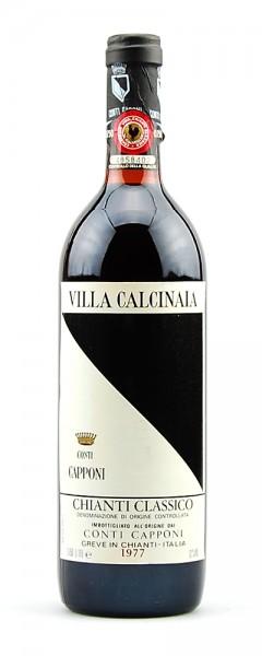 Wein 1977 Chianti Classico Conti Capponi