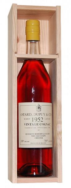 Cognac 1952 Otard, Dupuy & Co's