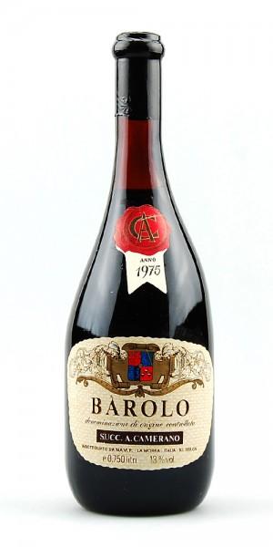 Wein 1975 Barolo Camerano