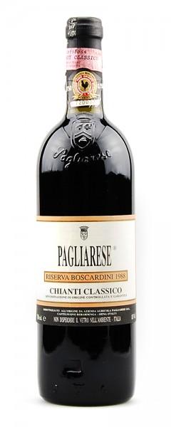 Wein 1988 Chianti Classico Pagliarese Riserva