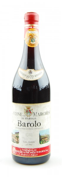 Wein 1977 Barolo Marchesi di Barolo