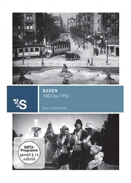 DVD 1803 - 1952 Chronik Baden
